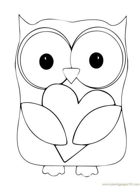 owl coloring page  owl coloring pages