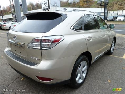 lexus satin metallic satin metallic 2012 lexus rx 350 awd exterior
