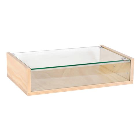 glass display australia counter top display case with lockable glass top 390 d x