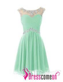 Short prom dresses sexy mint green homecoming dress for junior