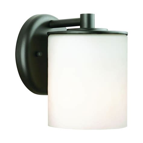 Philips Outdoor Lighting Philips Midnight 1 Light Black Outdoor Wall Lantern F849919 The Home Depot