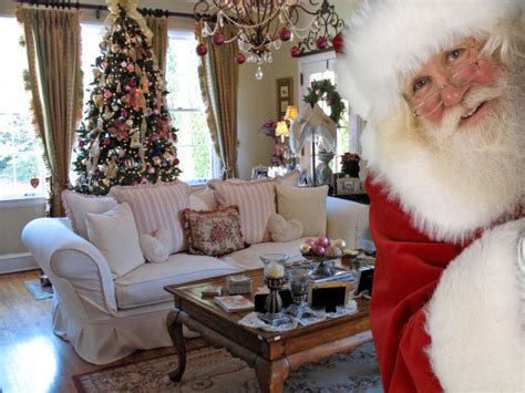 santa in your living room photo photo of santa in your home from 4 capture the magic bargainmoose canada