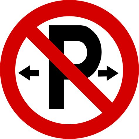 printable irish road signs printable no parking signs clipart best