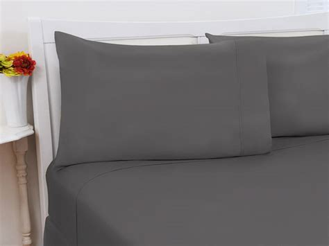 upgrade your bedding with these ultra soft bamboo sheets the 1800 series bamboo extra soft 4 piece sheet set full grey