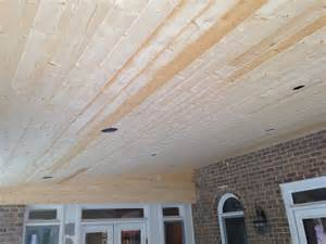 White Pine Tongue And Groove Ceiling by Tongue And Groove White Pine Porch Ceiling Before Stain