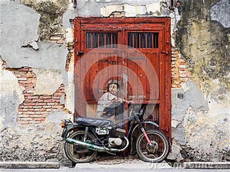 penang street art bullfrogs symposium street art mural in georgetown penang malaysia editorial