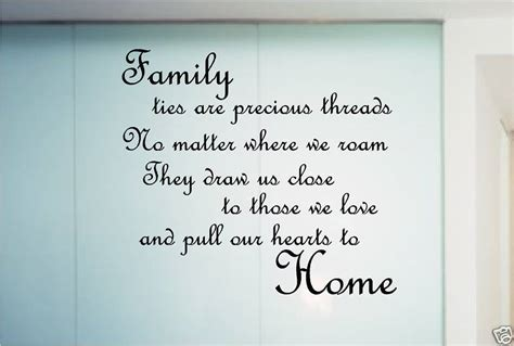 poems about bedrooms family poem quote sticker wall art bedroom kitchen ebay