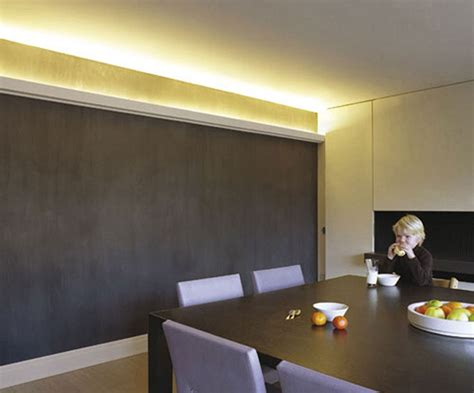 Chair Rail Dining Room by Molding With Lighting Crown Molding For Indirect Lighting