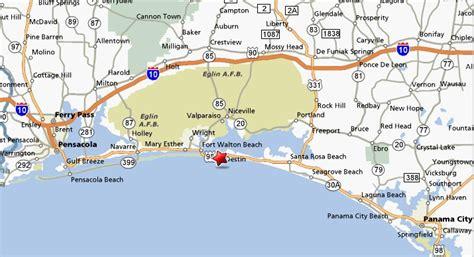 map of destin florida area destin florida feast of tabernacles