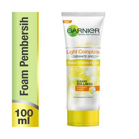 Pembersih Muka Garnier Light Complete jual garnier light complete white speed multi