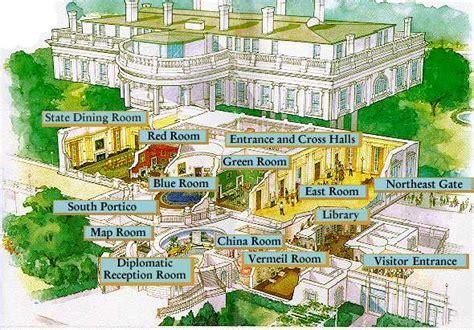 the white house floor plan washington d c esl resources