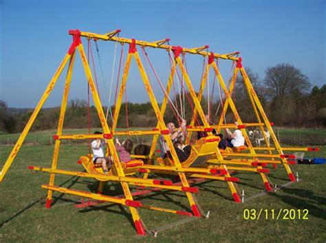 swing boat playground elements 2 3 swings