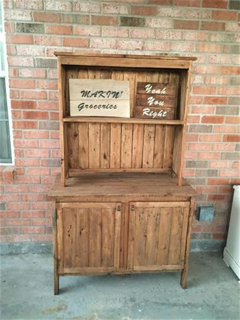 wooden kitchen furniture wooden kitchen pallet hutch pallet furniture plans