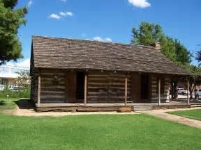 grapevine tx historic log cabin photo picture image