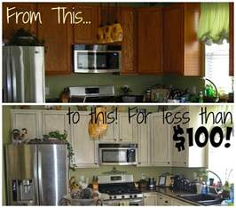 kitchen transformation white cabinets painted white glazed cabinet transformations a review a year