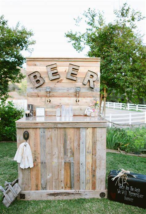 25  best Rustic Wedding Bar ideas on Pinterest   Diy
