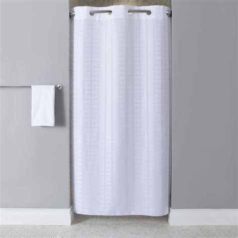 shower curtain enclosure hookless stall shower curtain liner shower curtain