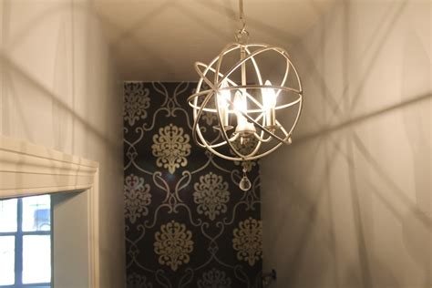 powder room chandelier powder room upgrades interiors