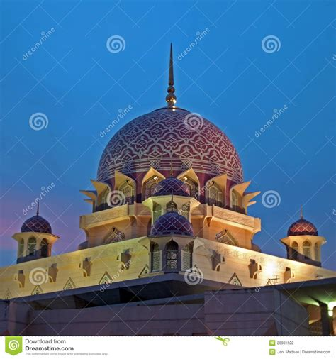 Nature Stek Malaysia the putra mosque malaysia stock photography image 26831522