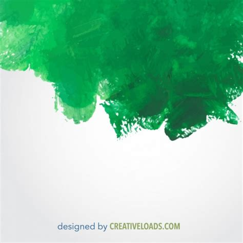 free vector green watercolor painted texture freevectors net