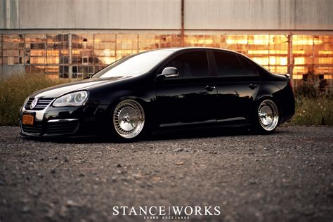 volkswagen jetta stance stance works a mkv jetta on polished schmidt wheels