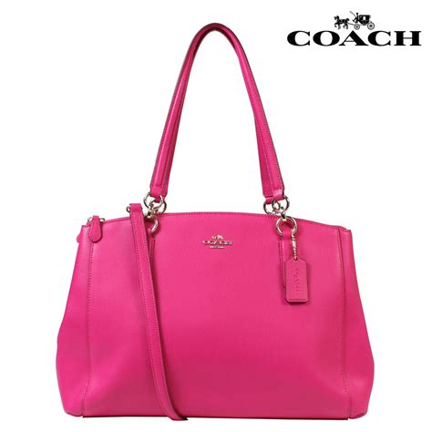 Coach Bag Pink by Allsports Coach Coach Bag Tote Bag 2 Way F 36606 Pink Ruby Rakuten Global Market