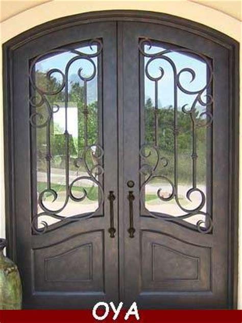 house steel main entrance door design double iron doorid