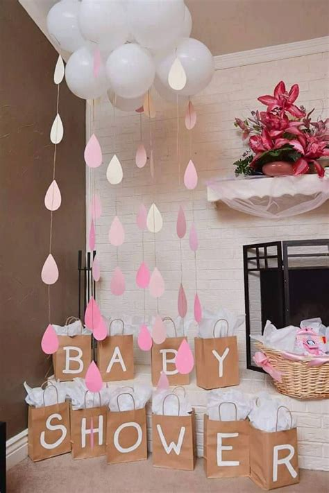Link Beautiful Baby Showers by Baby Shower Or Bridal Shower Cloud And Raindrops