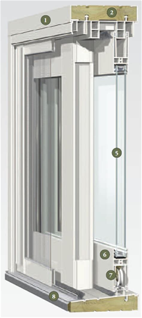 Alside 6100 Sliding Glass Door   Professional Installation