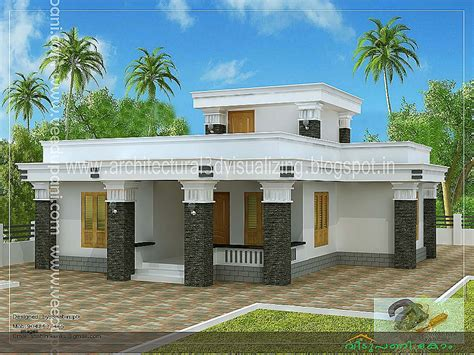 slope roof low cost home design kerala and floor plans house plan lovely single slope roof house plans single