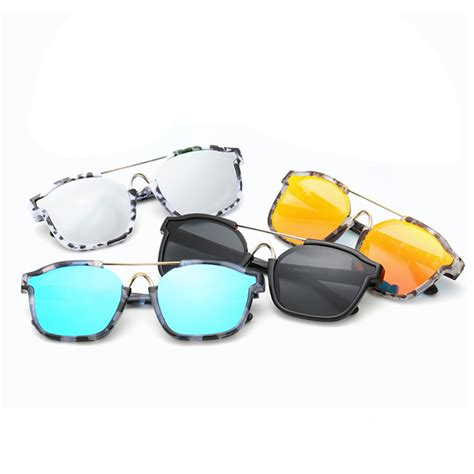 Cool L Shades Multicolour Unisex Stylish Reflective Vintage Sunglasses Cool Shades Uv400 Protection