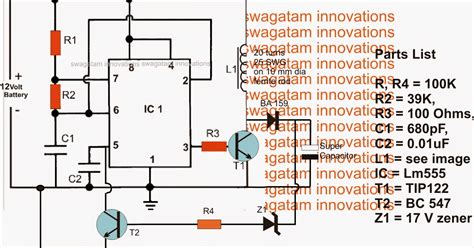 purpose of capacitor in parallel inverter capacitor charger circuit electronic circuit projects