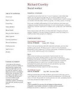 social work resume 9 free word pdf documents