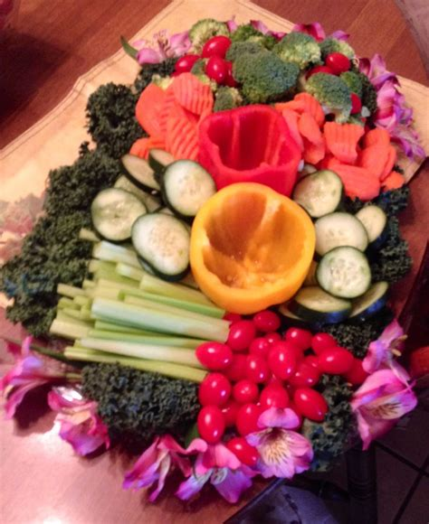 vegetable tray for baby shower veggie tray trays and veggies on