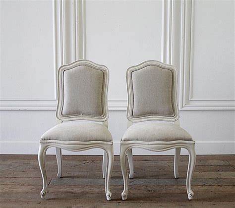 century set   french country painted  linen