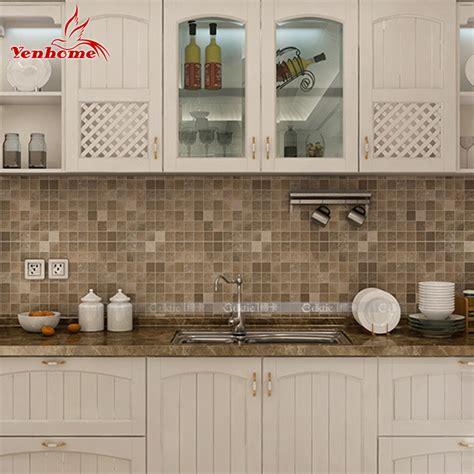 Countertop Wallpaper by 10m Pvc Mosaic Wall Sticker Bathroom Waterproof Self