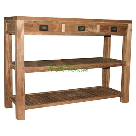 teak console table reclaimed wood console table reclaimed wood console table