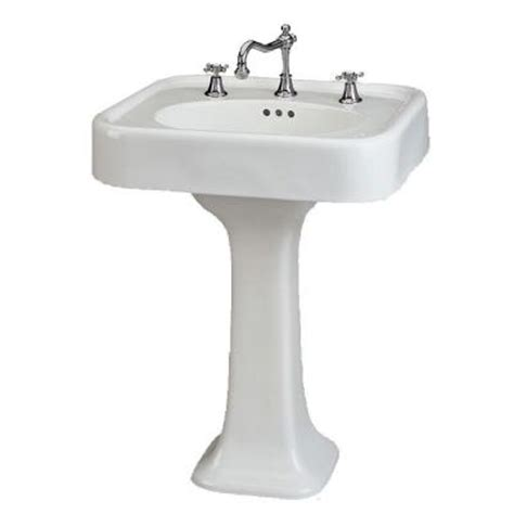 st thomas liberty st thomas creations liberty 25 in pedestal basin in