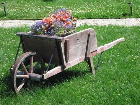 Antique Wheelbarrow Gardening Pinterest Gardens Wheelbarrow Garden Ideas