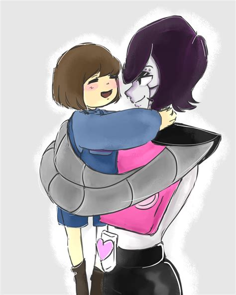 mettaton and frisk undertale frisk fandom and undertale mettaton and frisk by cutecrazynes on deviantart