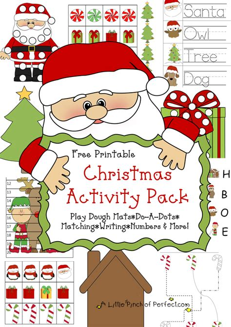 printable christmas party games pack download free printable pack learning printables for