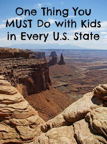 things to do in every state one thing you must do with kids in every u s state