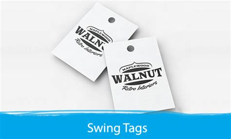 what are swing tags swing tags print depot