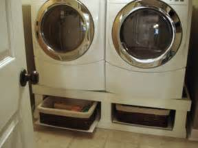 Washer And Dryer Pedestal Alternatives 1000 Images About Front Load Washer Pedestal Ideas On