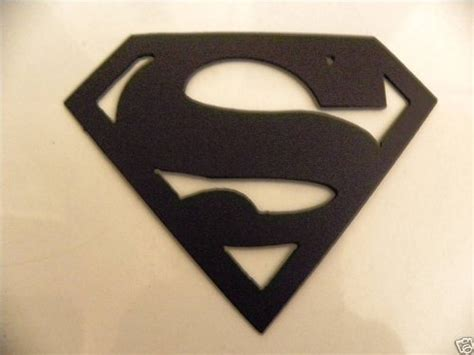 superman logo large 2 foot home decor metal wall
