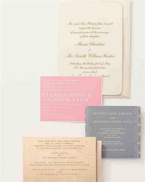 9 host line scenarios to make wording your wedding