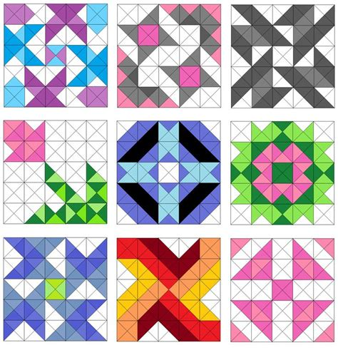 triangle pattern block templates 1000 ideas about triangle template on pinterest