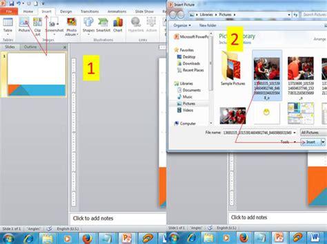 langkah membuat opini memasukan foto ke powerpoint cara memasukan foto atau