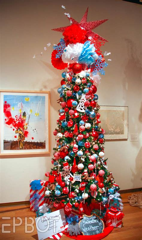 best christmas theme epbot festival of trees 2015 aka the best tree ideas to