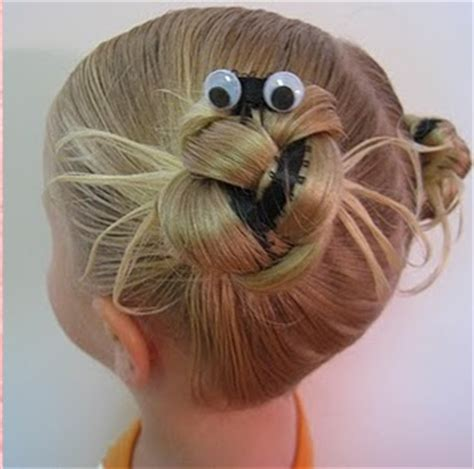 epic spider bun hairstyle with spiderweb included 17 best images about spider hair on hair dos
